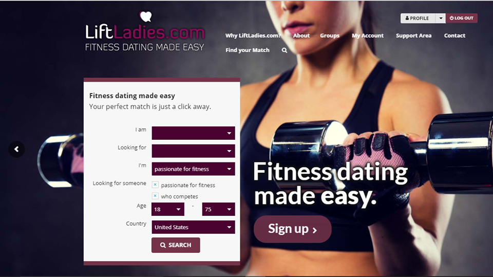 Health dating site
